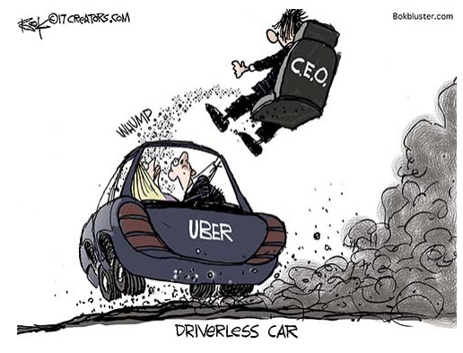 Uber (Finally) Shifts Gears